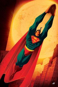 Cool DC comics posters