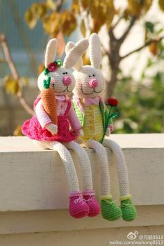 Beautifulllll. Easter bunny, boy and girl.