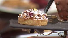 French Pastry Chef made Apple Cranberry Crumble Pie