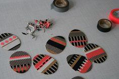 DIY: Masking Tape Ostereier