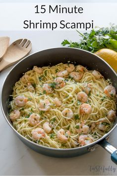 This Shrimp Scampi i