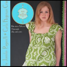 Dana Top/Dress - Sizes XS(0-2)-3X(26W)