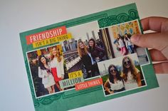 @carolinestf sent gratitude right to her friend's mailbox with a personalized card.
