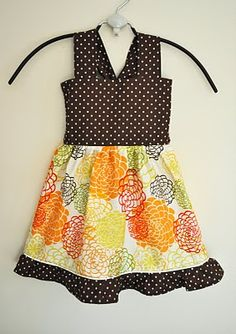 Measurements and Tutorial Video for this Shirred Top or Dress for Toddler Girl :D