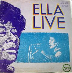 Ella Fitzgerald's 1968 live LP on Verve Records (illustration by Mozelle Thompson). This is actually a Brazillian import. The weekend of Friday, June 20th to Sunday, June 22nd, 2014 I will put together a small selection of Mozelle Thompson's Jazz album cover illustrations. They'll be on display in the TrustVinyl pop-up record store as a part of the Pittsburgh JazzLive International Festival.