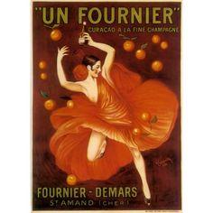 Vintage Poster, French Liquor