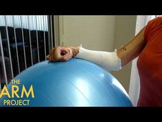 Stroke Nation | Stroke Recovery Exercise | Physio Ball After Stroke Arm Exercise