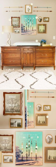 completely obsessed with this boy nursery! A little vintage, woodlands and amazing. Wanting to steal the style for my guest room!