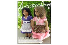 Artistic Amy Kimono Dress Pattern for American Girl ® Dolls | Liberty Jane Doll Clothes Patterns For American Girl Dolls