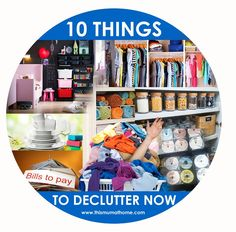 10 THINGS TO DECLUTT