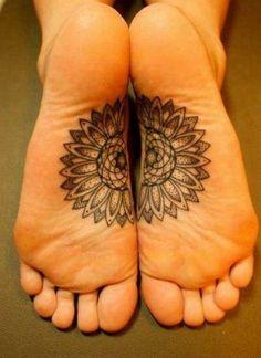 Tattoo #inked Feet