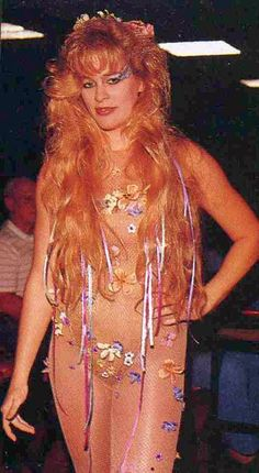 Godiva from GLOW - The Gorgeous Ladies of Wrestling