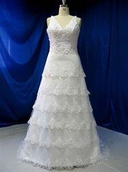Plus Size Wedding Dress from WeddingDressFantasy.com