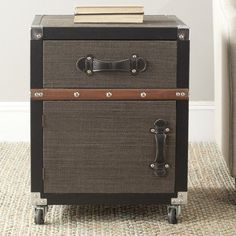 Save $227.51 on Safavieh Home Collection Joel Rolling Chest, Black and Brown; only $192.49
