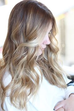 melted blonde ombre