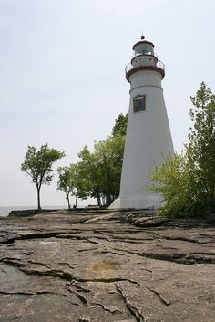 Lake Erie Shores & Islands, Marblehead #Lighthouse Ohio