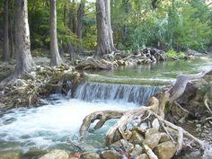 Near the 7A bridge in Wimberley, Texas