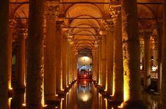 Basilica Cistern Istanbul SultanAhmet