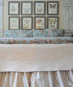 DIY:: Drop Cloth Bed-skirt Tutorial