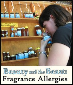 Beauty and the Beast: Fragrance Allergies - Beauty Blog. A makeup artist's experience on the job. #fragrancefree #unscented #scentfree #mcs