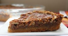 Low Carb Pecan Pie - Here's a low-carb version of my sweetie's favorite pie.