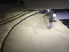 Stitch Play with Luke Haynes - free-motion stitching