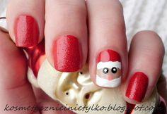 Adorable Santa #nailart