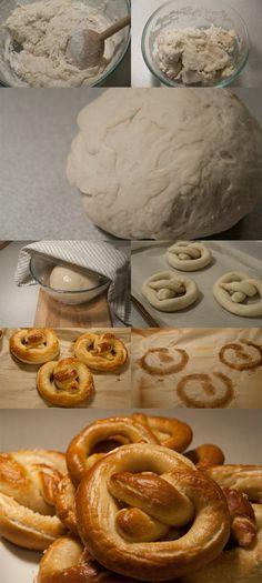 Delicious soft pretzel recipe