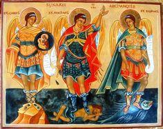 Arcanjos Gabriel, Miguel e Rafael