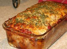Parmesan Meatloaf Gluten Free