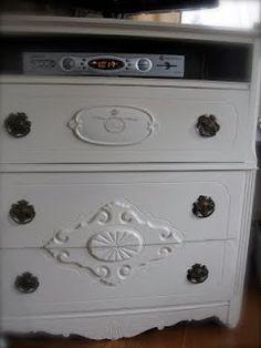 Good repurposed dresser.