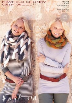 Scarf and Snood in H