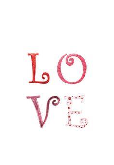 LOVE Wall Dangler #Valentines