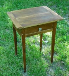 Antique Reproduction table of 100 year old Wood
