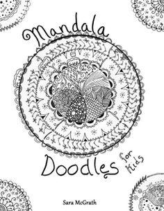 Mandala - @Megan Ward Maxwell Coleman.   Doodles for Kids