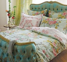 Loving these upholstered beds from #HouseofTurquoise!!