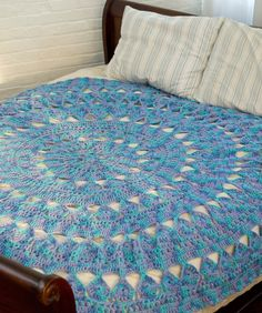 Medallion Circular Throw