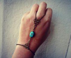 scarab slave bracelet egyptian bracelet bracelet by alapopjewelry, $26.00