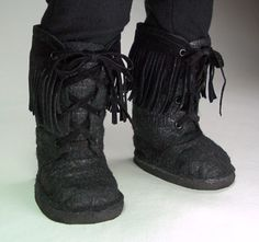 pattern for boots