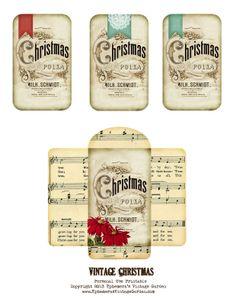 VintageChristmasPocket.jpg (1237×1600)