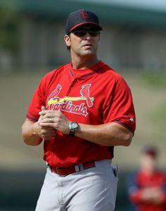 Manager Mike Matheny -Spring Training 2014