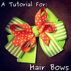 Our Adoption Journey... & Life With Kate!: DIY Bows- Tutorial
