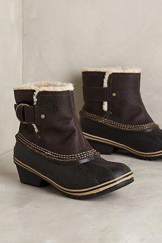 Sorel Winter Fancy II Boots #anthropologie