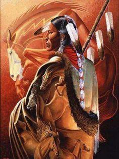 Warrior with Horse Spirit