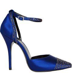 Reiss Tatjana embellished blue shoes (£179 down to £53)