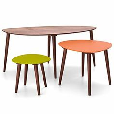 Happy Chic by Jonathan Adler Set of 3 Nesting Tables - jcpenney via happymundane.com