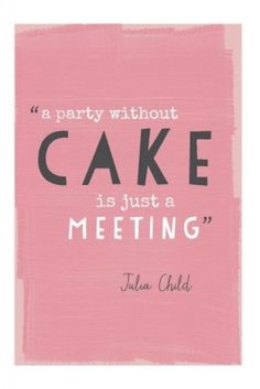 so without cake.. life is just boring.. *sigh*  http://facebook.com/ChestnutStreetKitchens