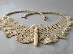 Amazing Irish Crochet from http://www.etsy.com/shop/Nothingbutstring