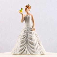 Princess Bride Kissing Frog Figurine #theweddingoutlet