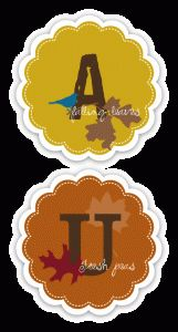 Autumn Banner Printable